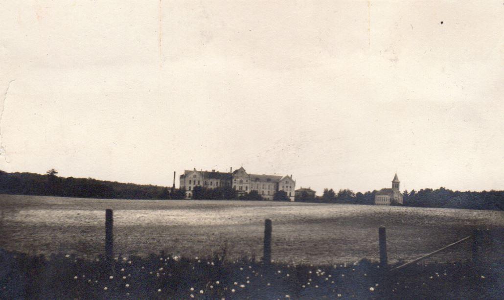 Holy Family Convent at Silver Lake, circa 1912