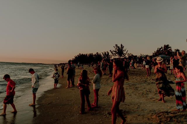 All the humans gathering to watch the sun set on the gulf. They clapped when it happened. I wonder if they all knew it was Earth Day? It's always special to me to witness people unite over simple things like this. I mean the sun sets every single day but sometimes it just grips everyone all at once and I love it. 🖤