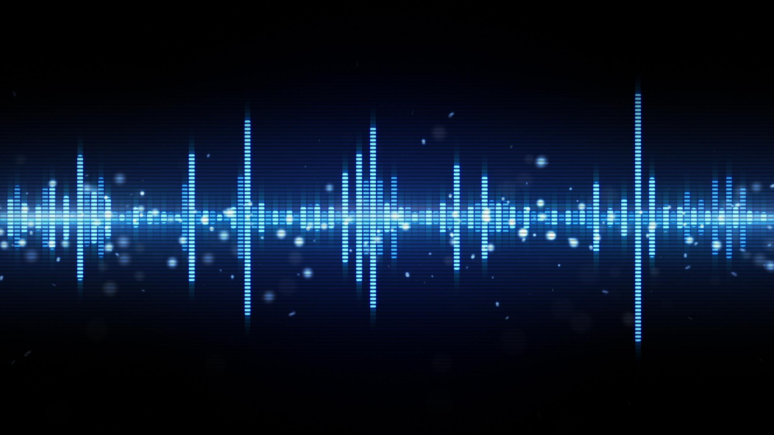 Audio Wave Photo