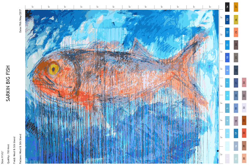 New rug design  Big Fish