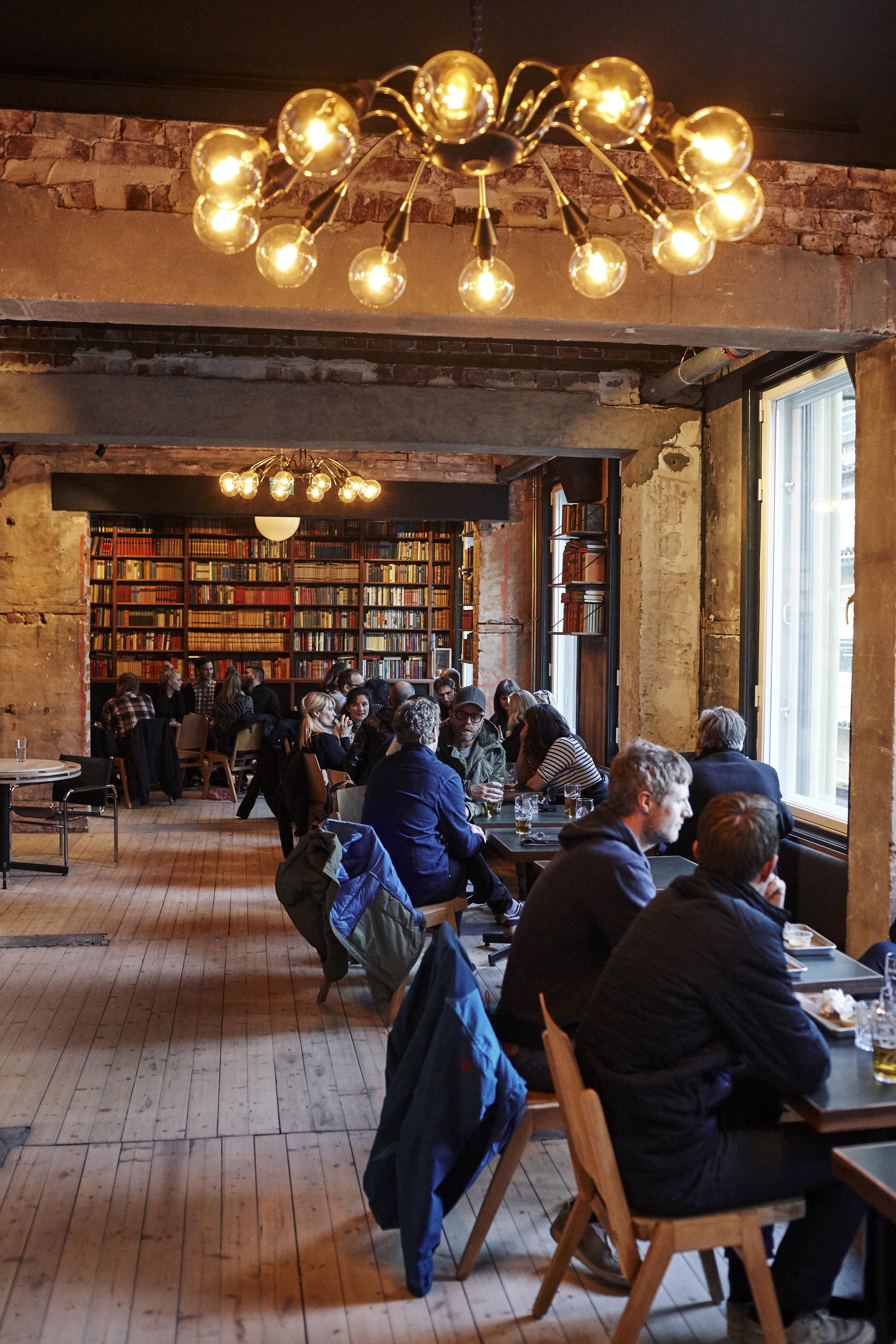 Biblioteket - FOTO: Jan KHur