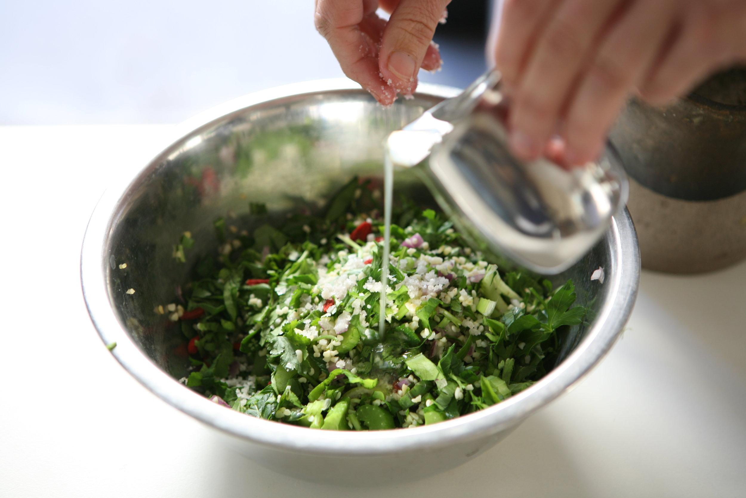 Recipes from chef Avital sebbag -