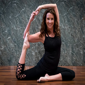 Katie   Yoga Instructor, Yogis for the Cause Co-Coordinator, YTT Curriculum Designer & Co-Director  Specialty Certifications: Aerial Yoga Level 1 & 2, Yoga Wall, Barre, Kids w/ Special Needs  The Wellness Center YTT Faculty Member