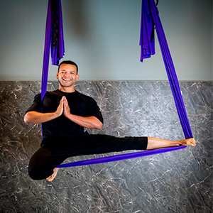 Sidney   Yoga Instructor  Specialty Certifications: Yoga Wall, Aerial Fit, & Aerial Yoga Flow