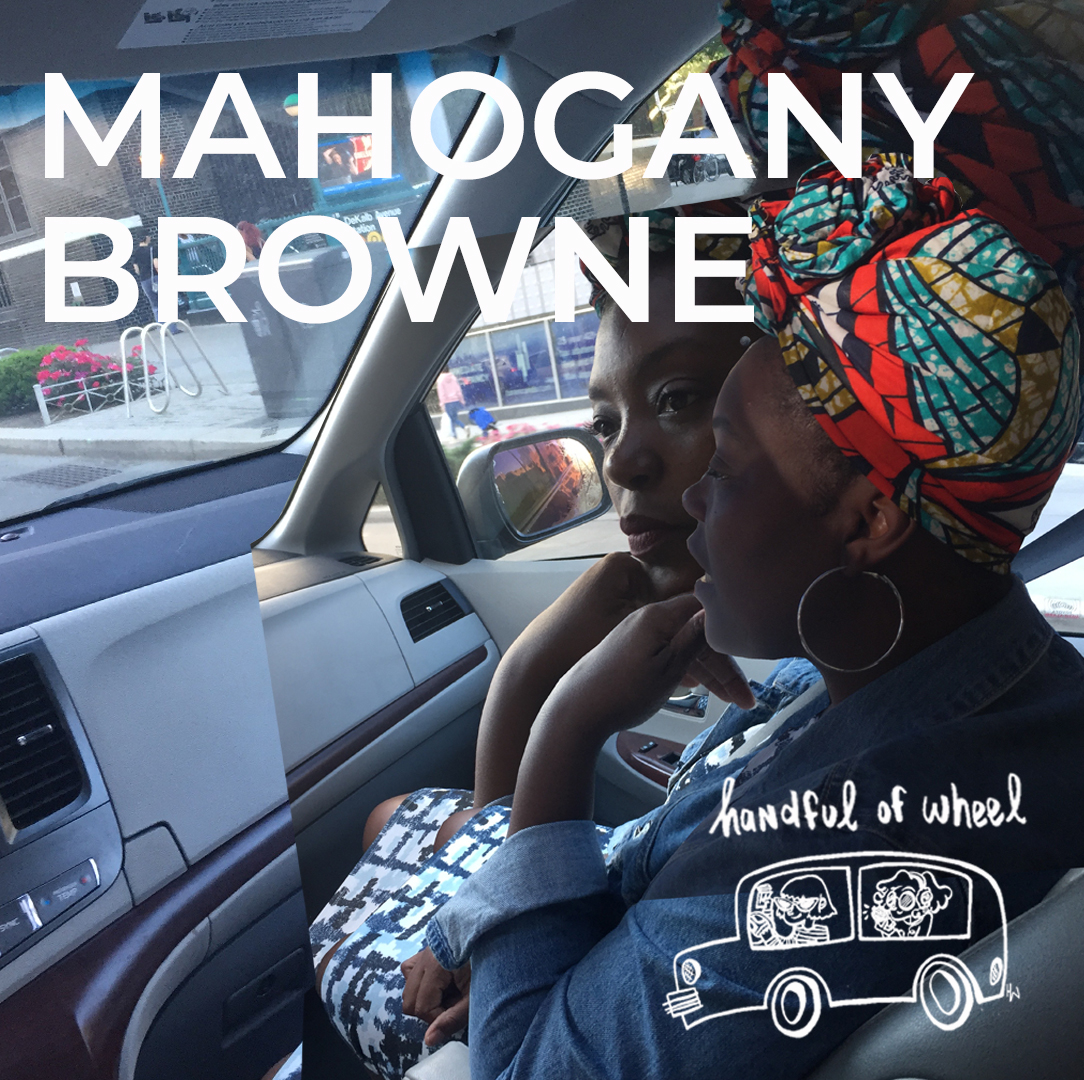"S3 Ep. 4 MAHOGANY L BROWNE  Mahogany L. Browne is a California born, Brooklyn based writer, educator, activist, mentor, and curator. We first saw her at a reading at Greenlight bookstore in Ft Greene Brooklyn and we were struck. Since then she's held teaching and mentoring positions at the Neyourican, BRIC, BAM, Pratt, and even more positions both nationally and internationally. In short, she is a force. And if that wasn't perfectly clear in writing, it became crystal clear in real life on our ride this spring where we talk about everything from travel, to eating, the idea of ""pressure cooker"" art, and finally, when enough is enough. Take a listen.  Original music by Arlen Ginsburg <3"