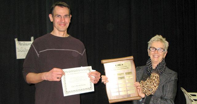 The recipient for 2016 is Chris Henkelmann.