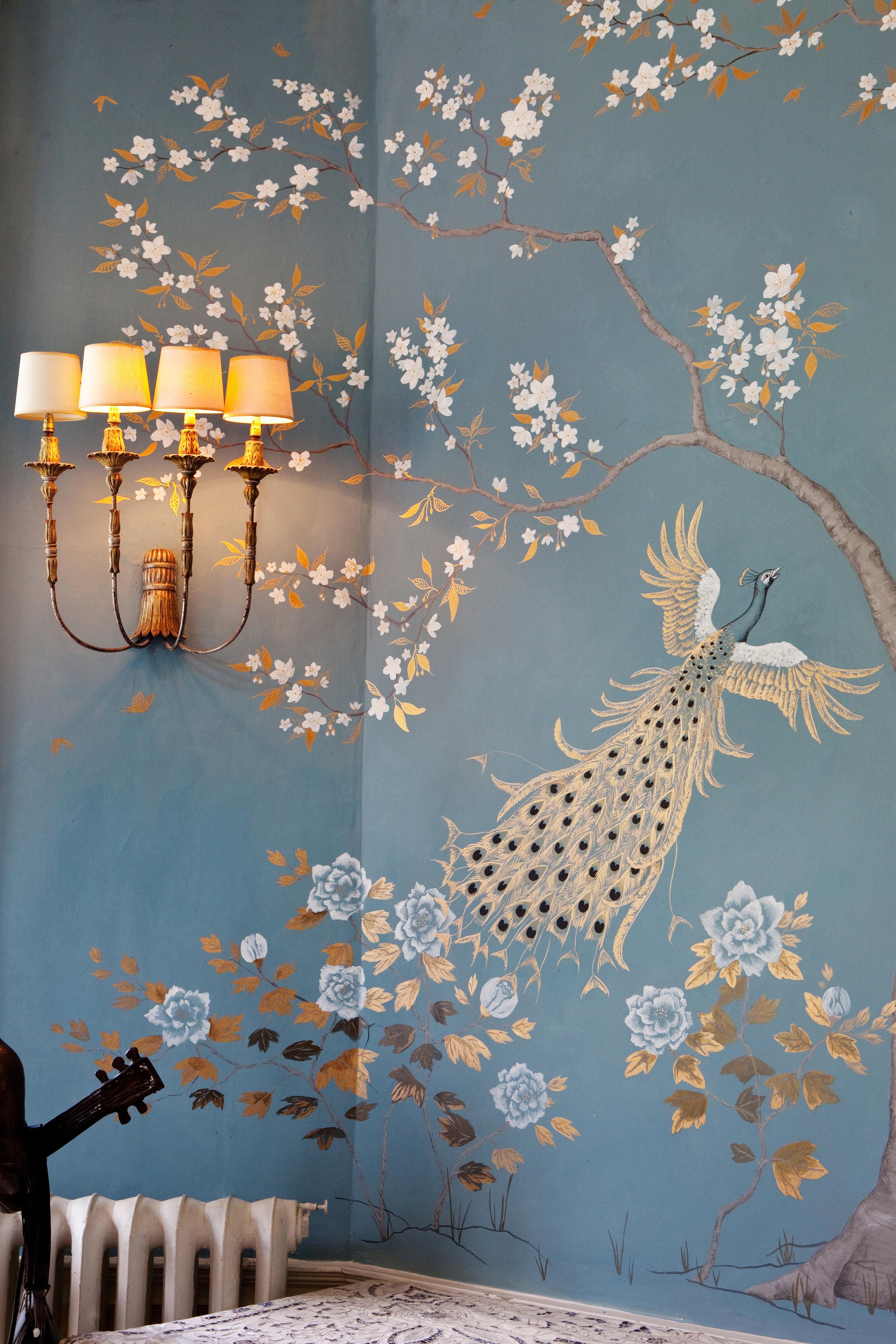 Frederick Wimsett - murals and artistic design - Somerset Peacocks 4.jpg