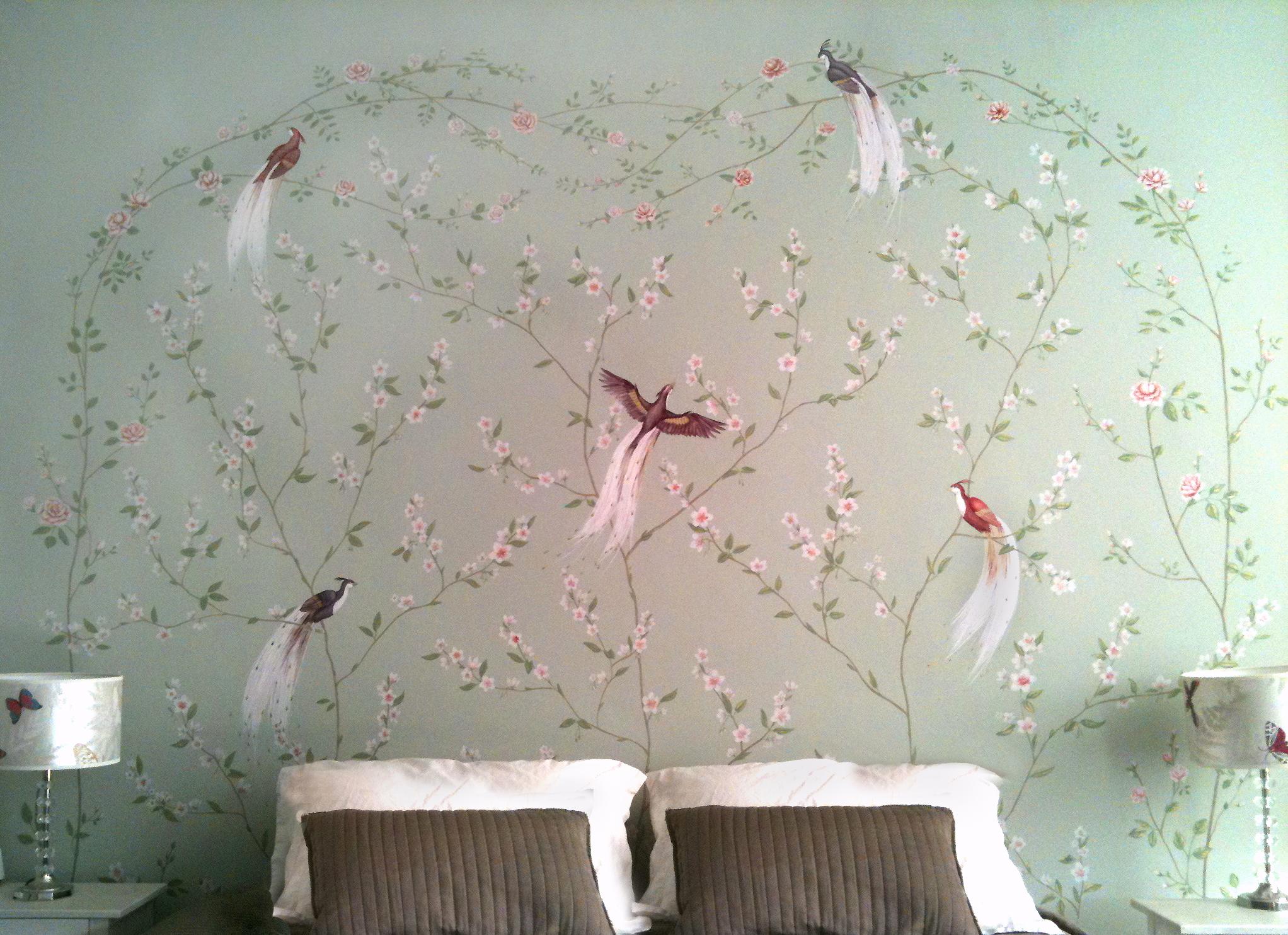 BIRD OF PARADISE HEADBOARD