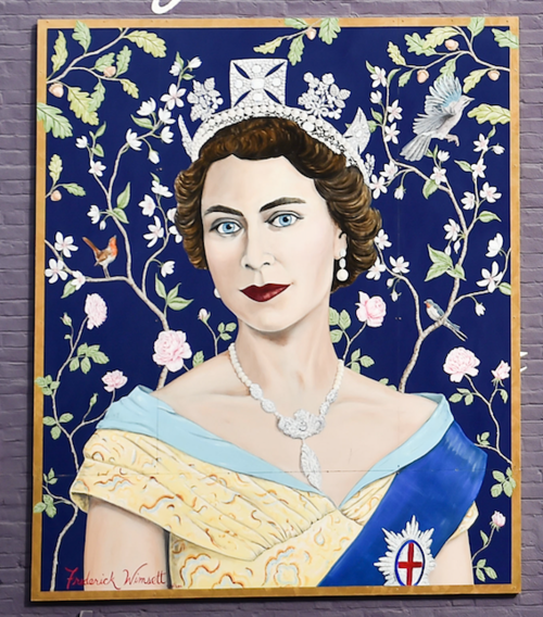 Frederick Wimsett - murals and artistic design - other projects The Queen at St Christophers place 3