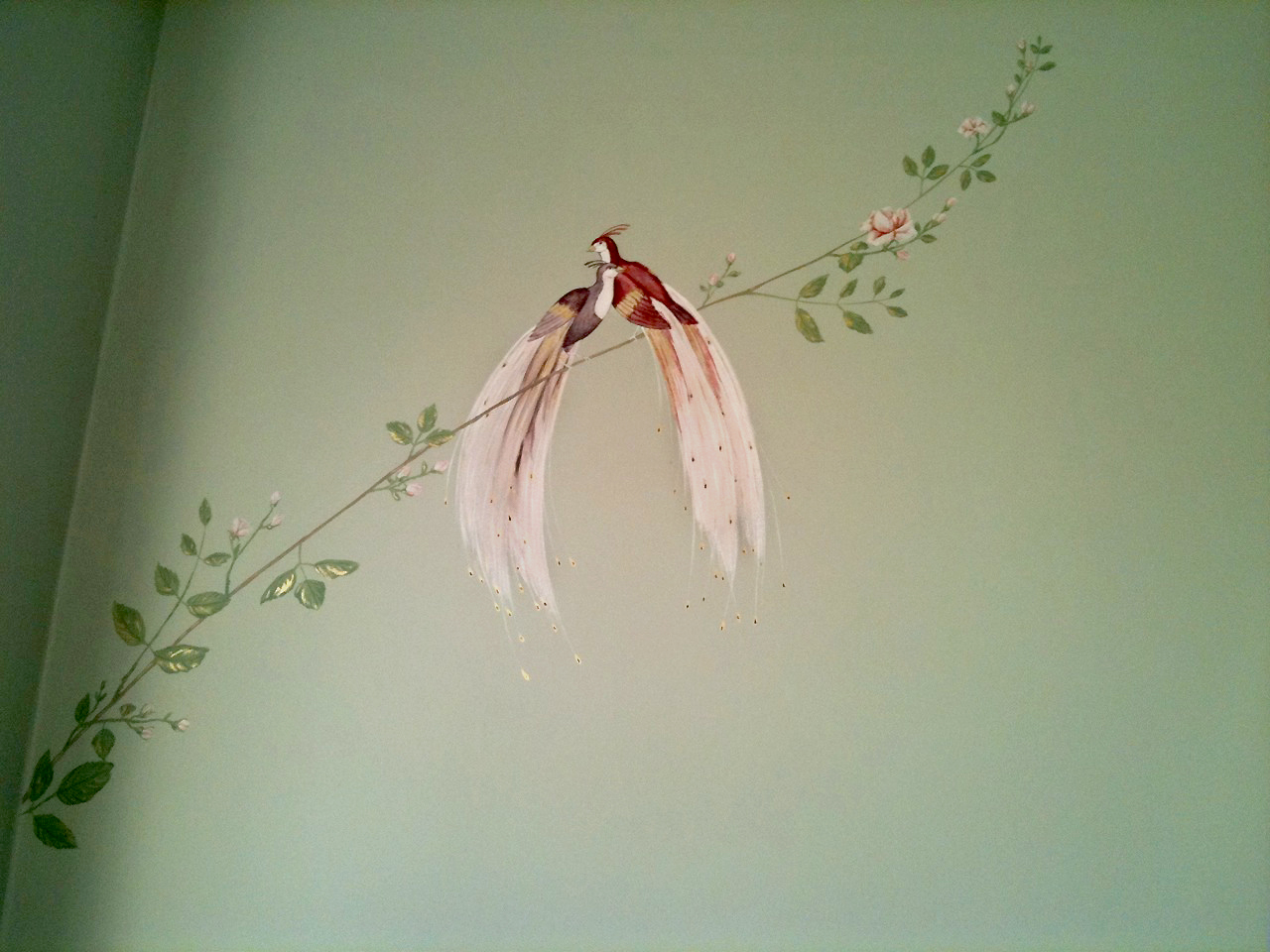 Bird of Paradise   Accent Wall.jpg