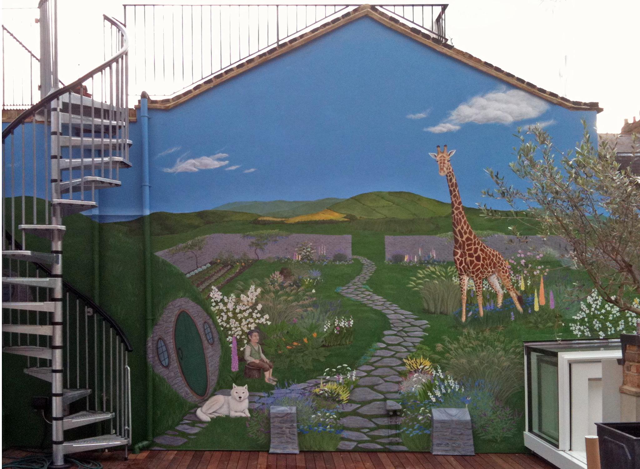 Secret Garden Frederick Wimsett - murals and artistic design - other projects1