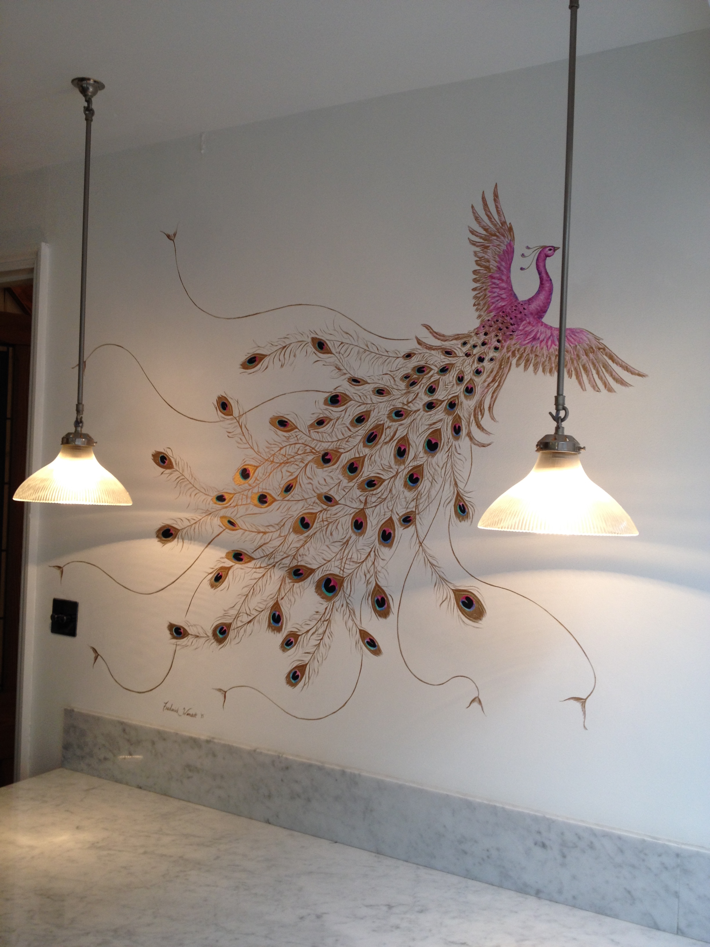Peacock Kitchen 4 - Frederick Wimsett - murals and artistic design - other projects  .JPG