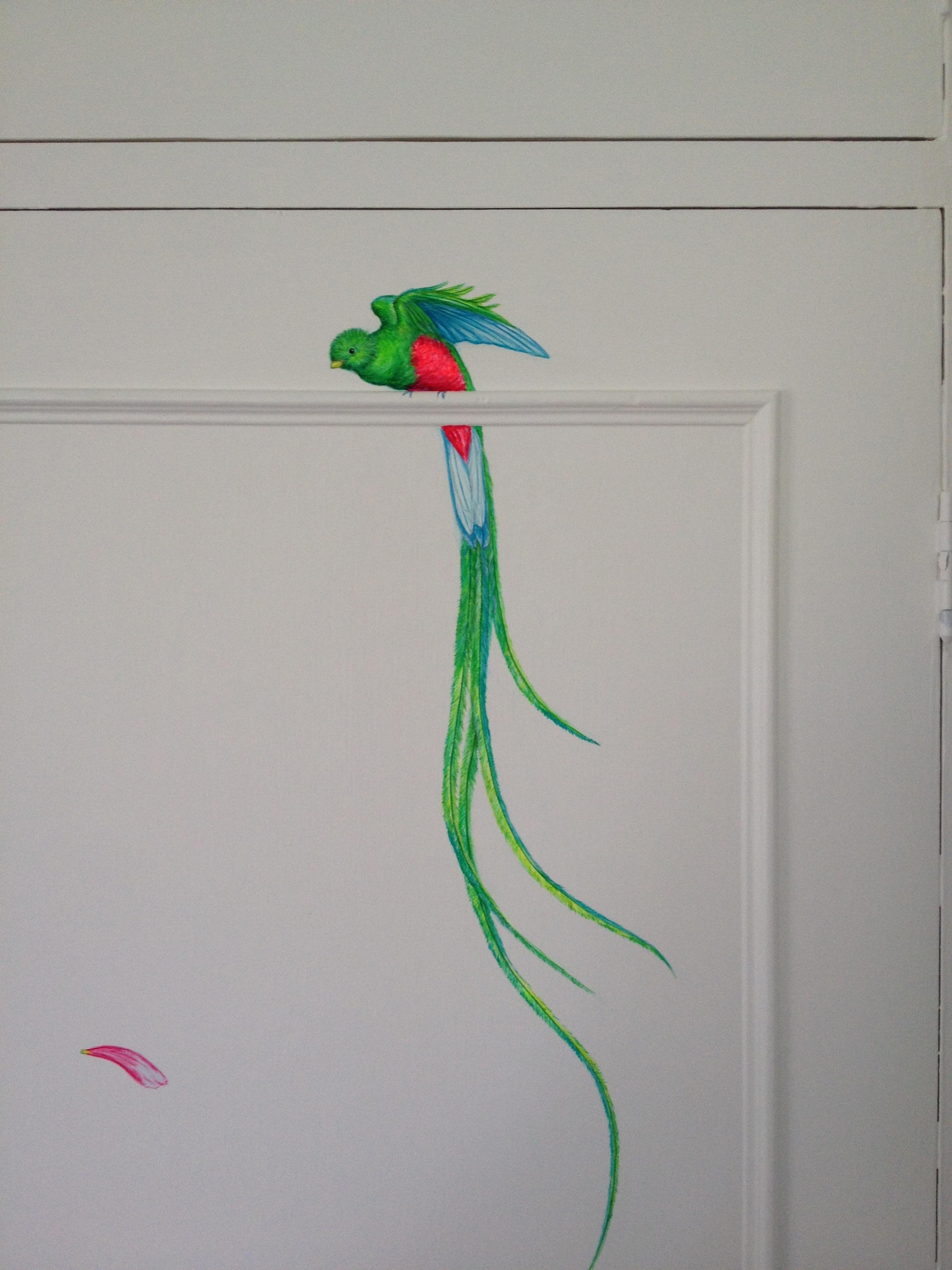 cozmo JENKS milliner- bedroom mural - detail -Frederick Wimsett - murals and artistic design - WALLS .JPG