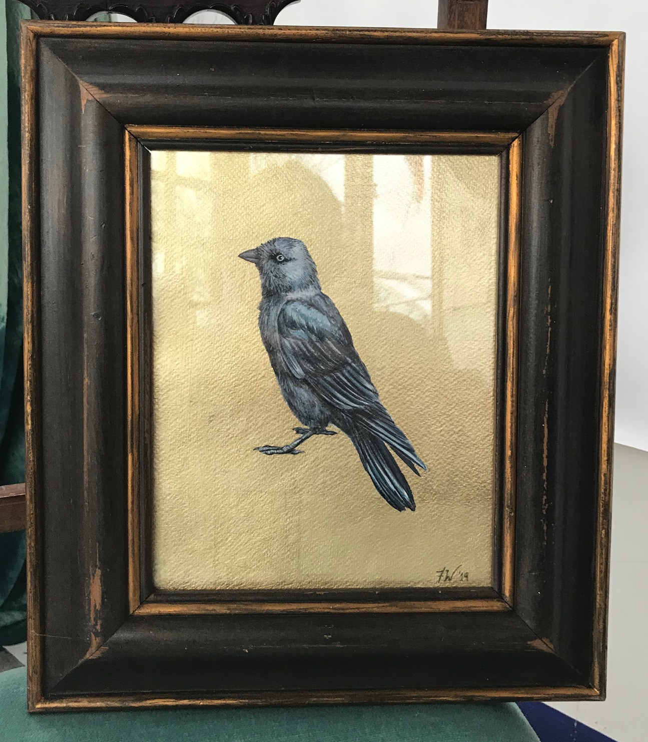 JACKDAW PAINTING