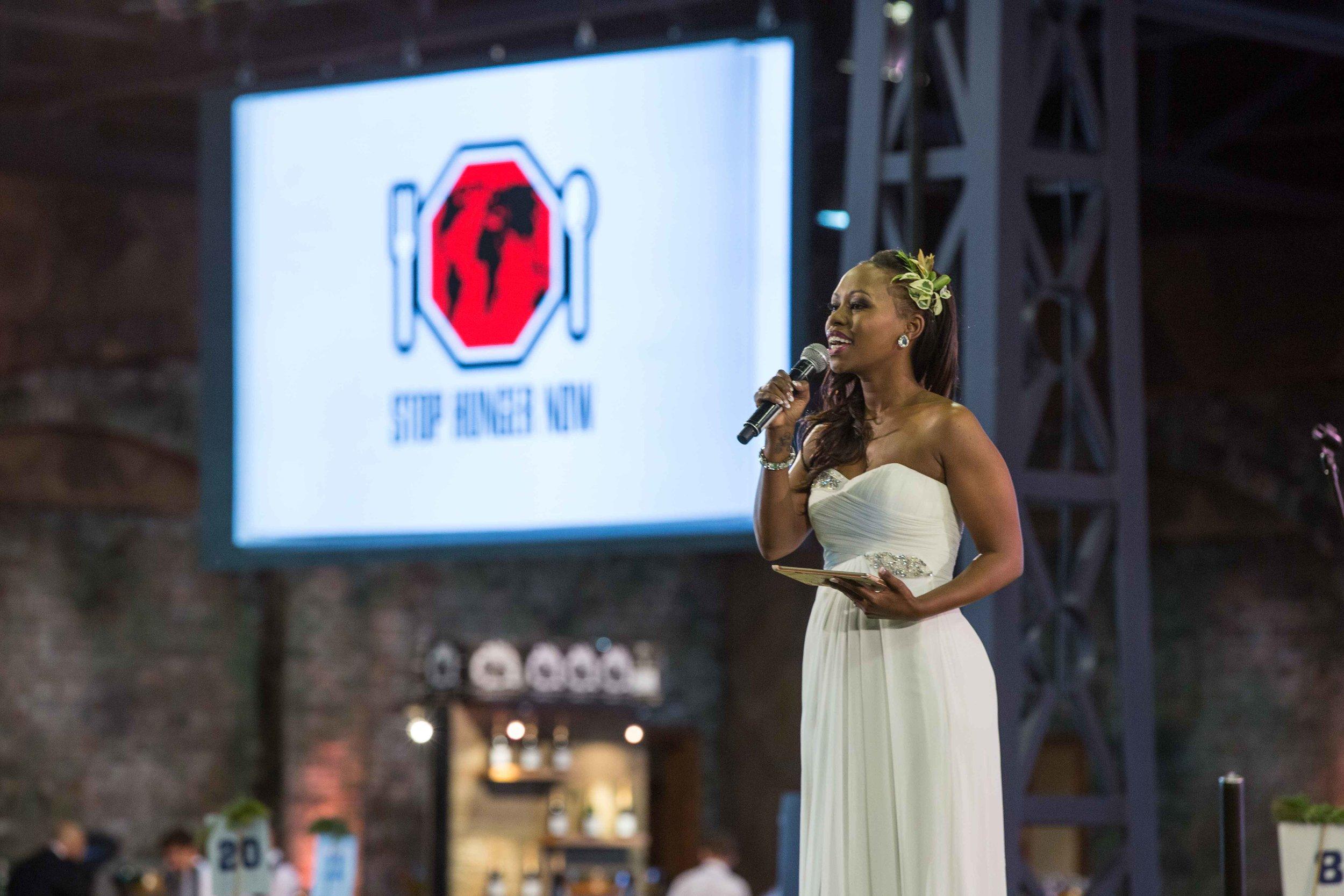 Elana Afrika-Bredenkamp Eat Out Mercedes Benz Restaurant Awards Host MC