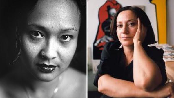 (L) Barbara Jane Reyes (R) Taraneh Hemami