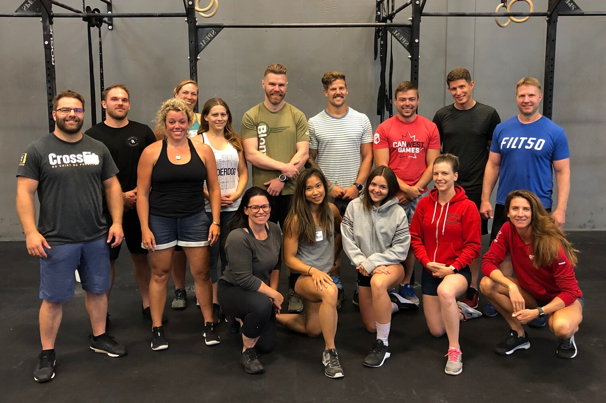Coaches Katie, Rebecca, and Scotty all completed (and passed) their CrossFit Level 2 Certificate course as well as Simon who re-upped his certificate.