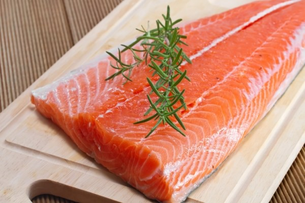 WILD RED SPRING SALMON This flaky, oily salmon is truly the king of the sea. Bake it, grill it, broil it... It doesn't get much better than this.