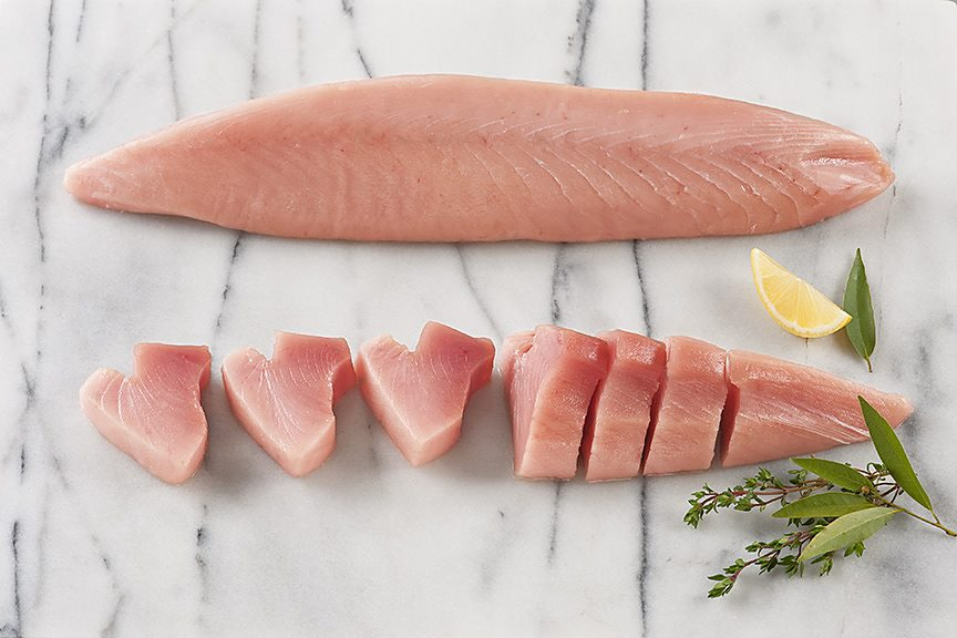 ALBACORE TUNA LOINS Perfect for use in sushi, as sashimi, lightly grilled on the BBQ or in your favourite fish recipe, our albacore tuna loins are as delicious and wholesome as they are convenient. The loins are skinned, deboned and vacuum-packed while still frozen. This ensures you enjoy the freshest fish possible.