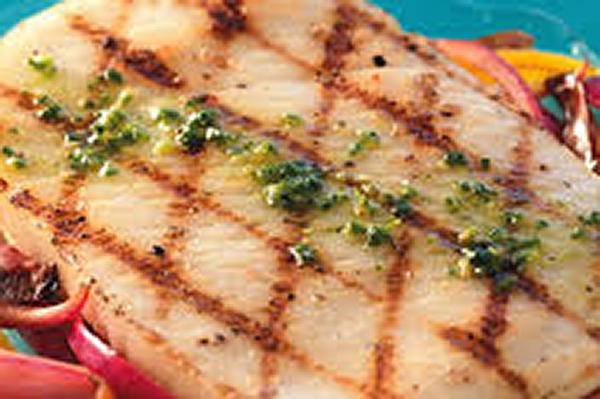 CALAMARI STEAKS Tenderized Calamari Steaks, an extremely simple and versatile. Very mild in taste with a chewy yet tender texture, similar to that of Scallops.