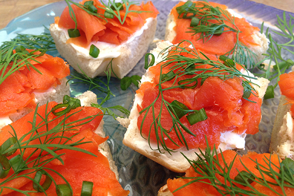 COLD SMOKED SOCKEYE SALMON Boasts an exceptionally rich flavour, reddish colour and firm texture. This thinly sliced salmon is an exceptional treat for seafood lovers. Heart healthy with loads of Omega-3 fatty acids.
