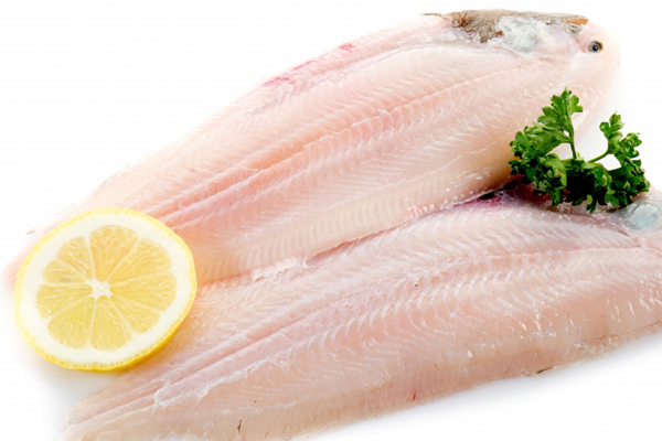 DOVER SOLE A delicate white fish great on its own or stuffed .Sweet and mild taste.