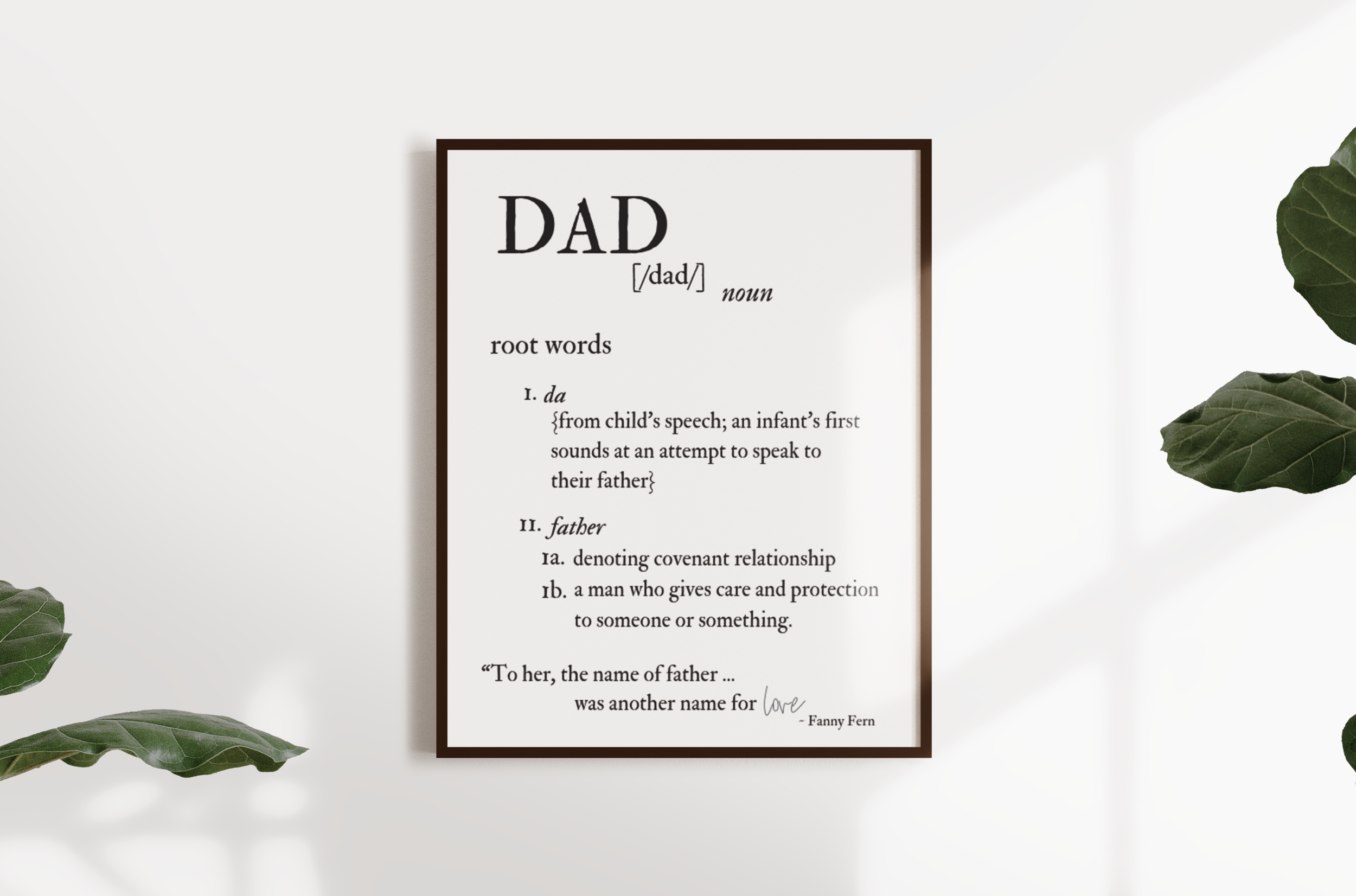 """""""Dad"""" Meaning"""