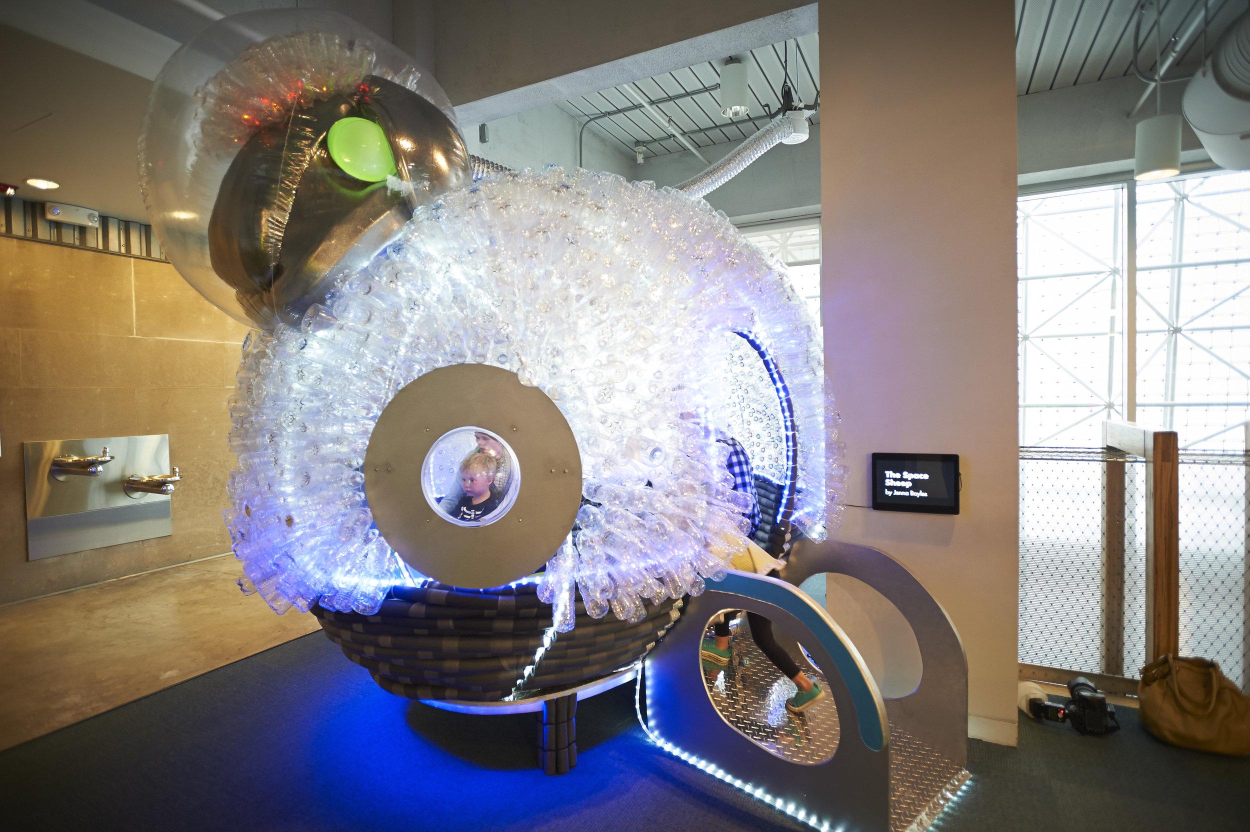 Space Sheep , Jenna Boyles, 2014.
