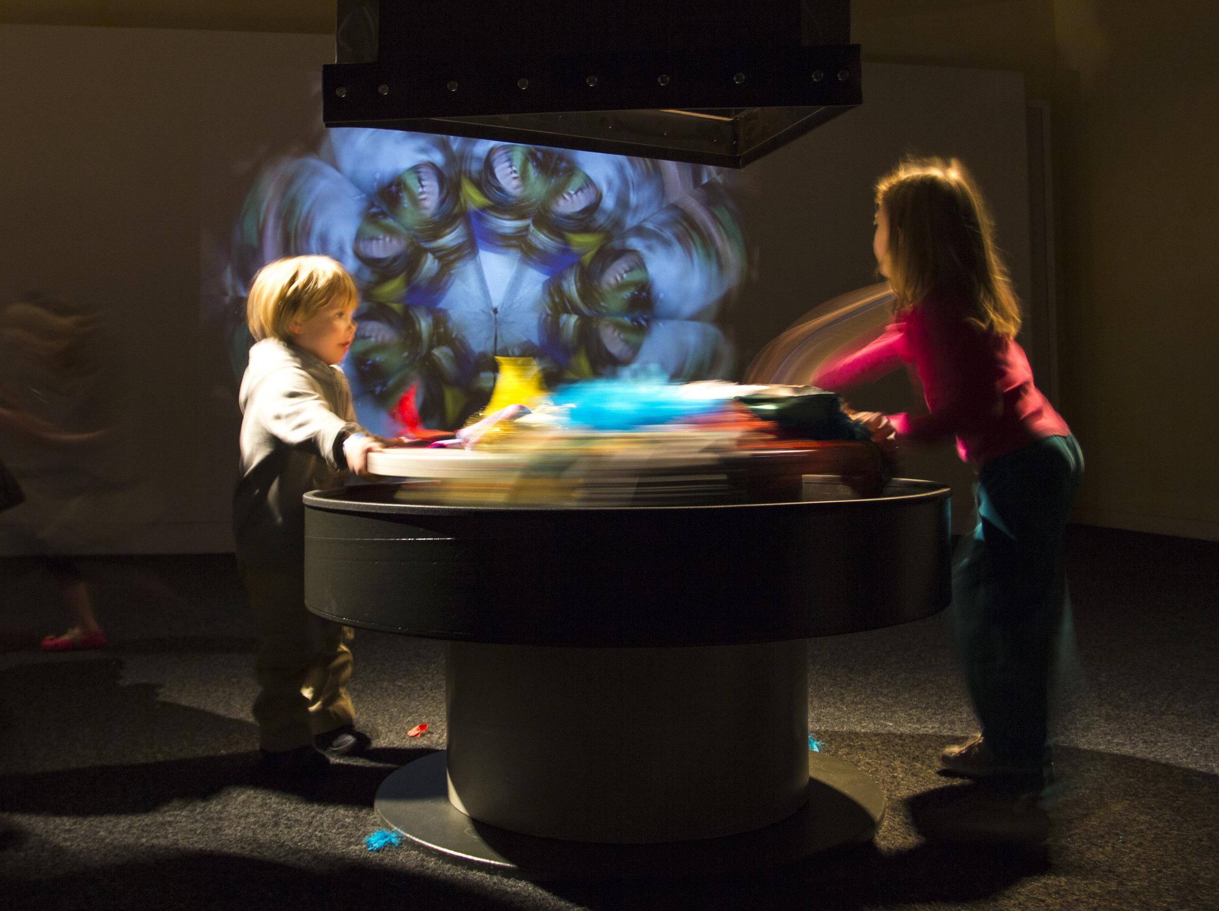 Giant Interactive Kaleidoscope,  Christina Zaras, 2011.