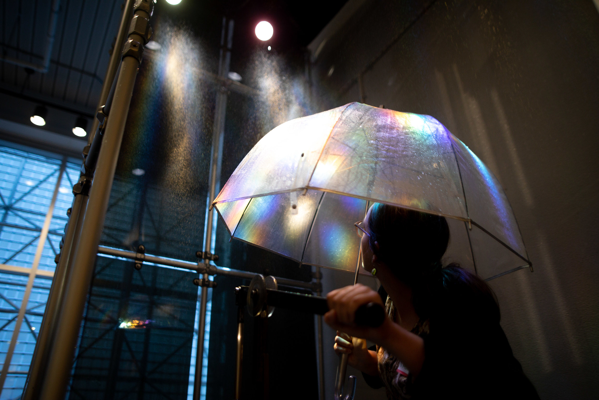 Light Showers,  Lumi Barron and Miranda Miller, 2018