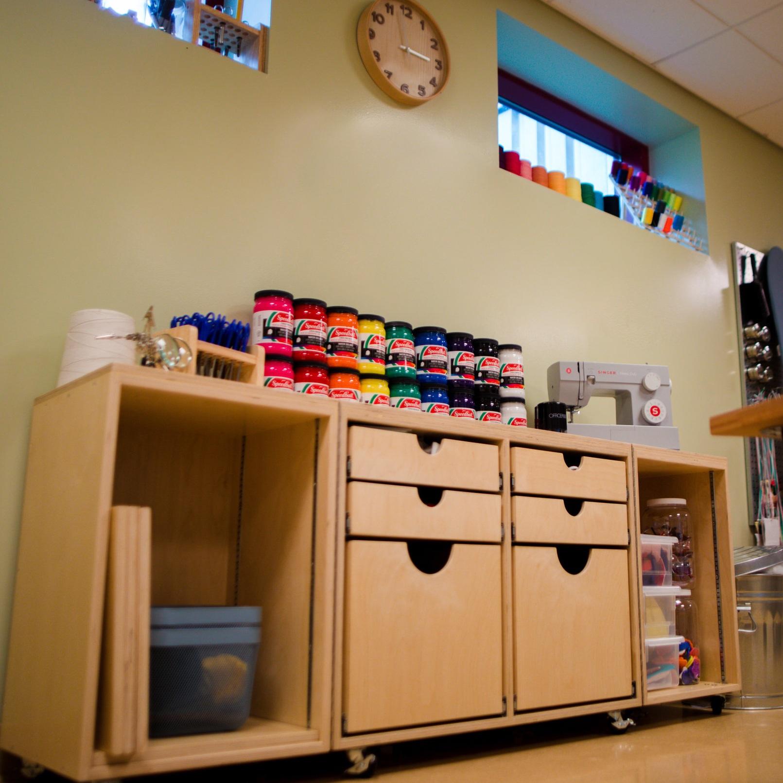 maker storage cabinet -