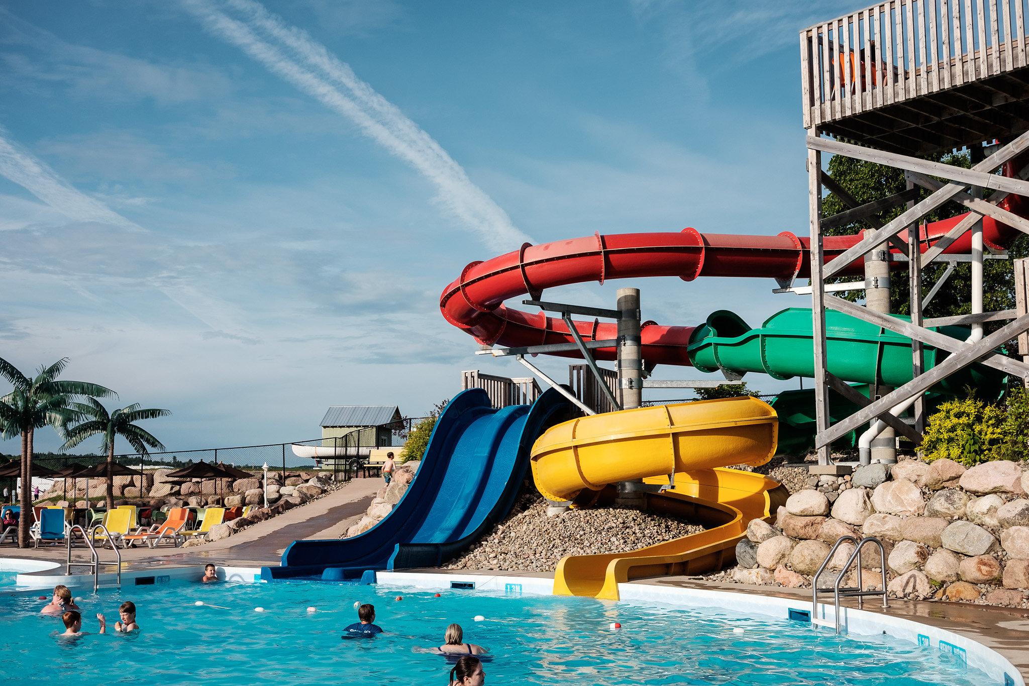 Water Park  Slide into summer fun at Hartt Island!   Let's Make a Splash