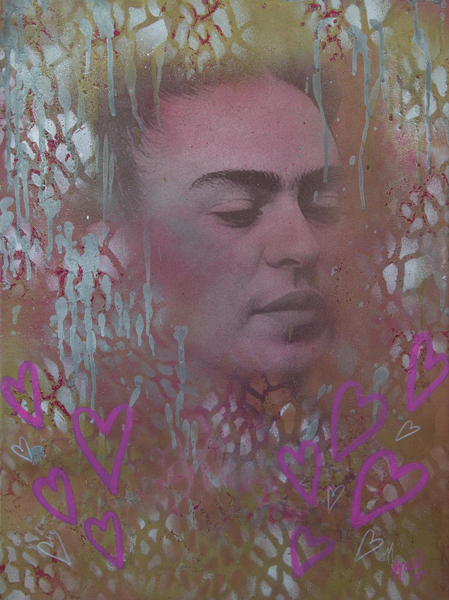 Frida Kahlo by Kristin Freeman, KrisXO