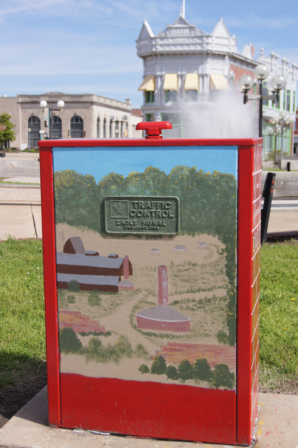 ELECTRIC BOX ART, Coffeyville, Kansas