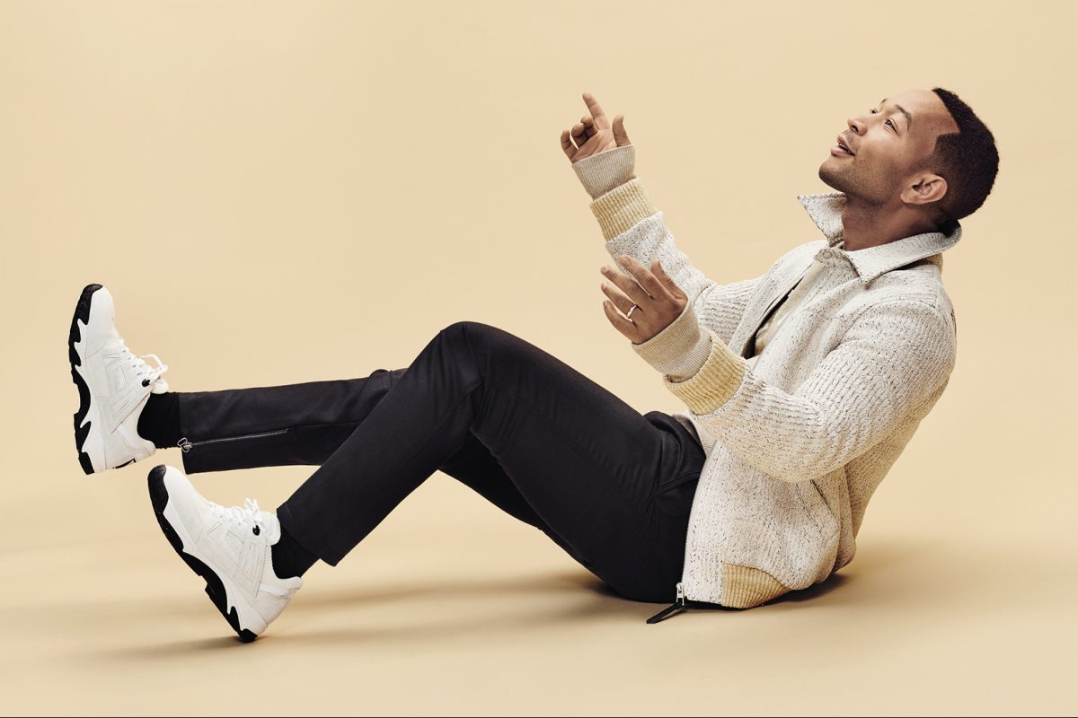 John Legend Covers August Man — David Thomas Style