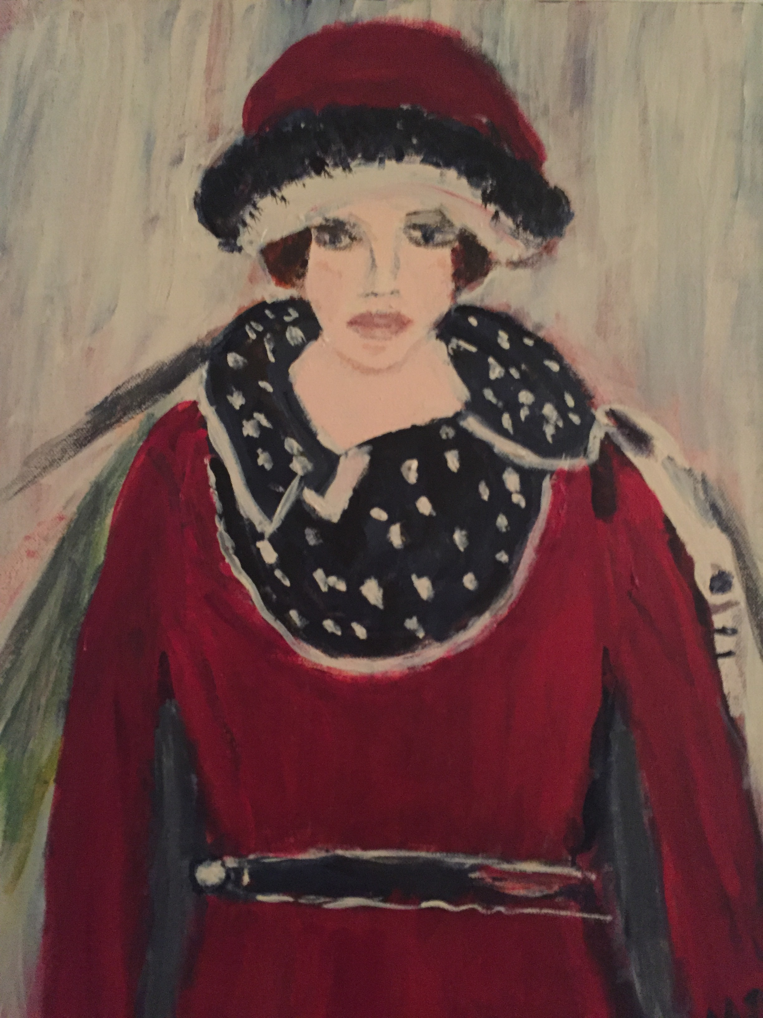Woman in Hat (The Artist)