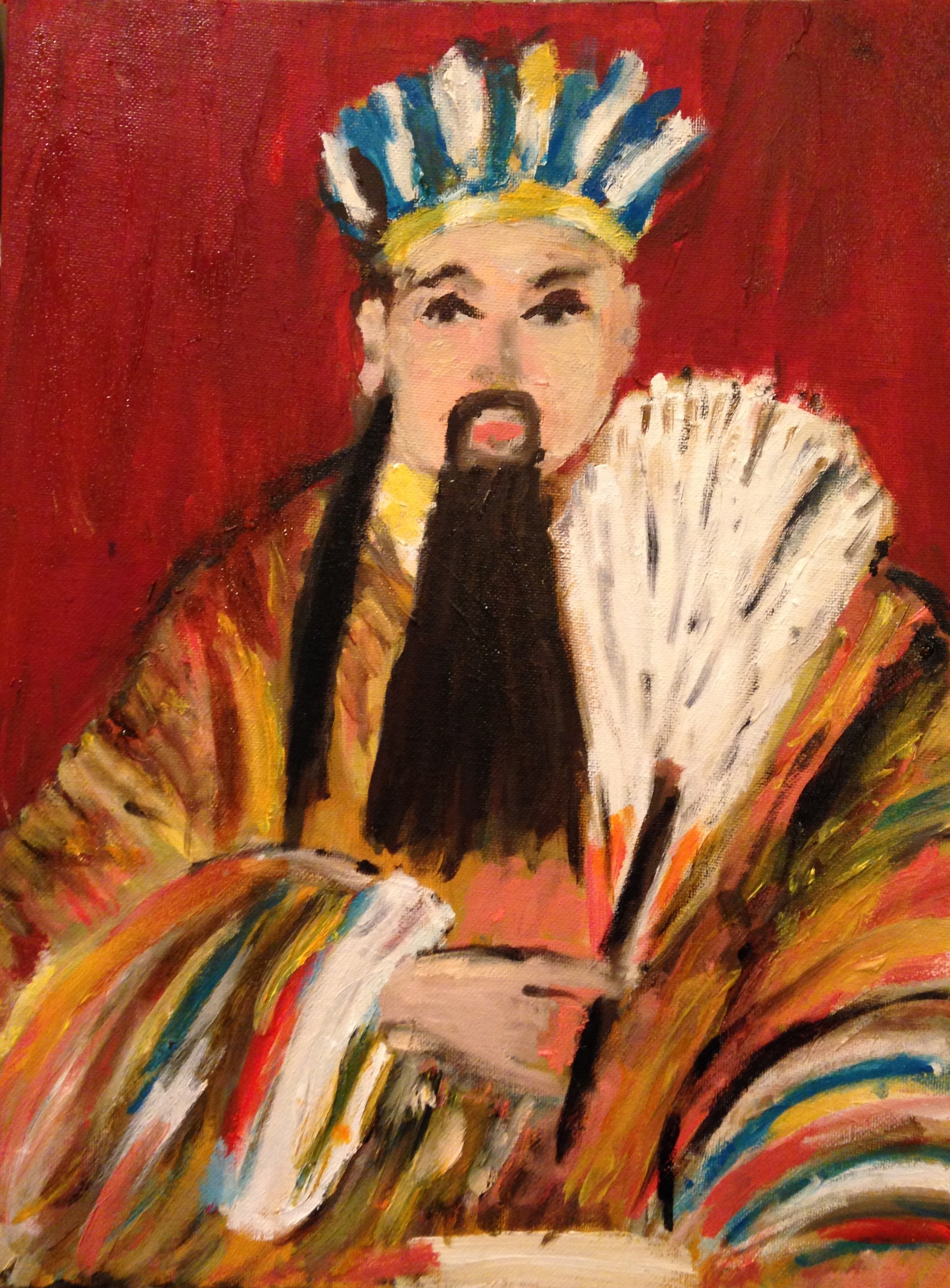 Chinese King (inspired by statue in Wuhou Temple in Wuhou)