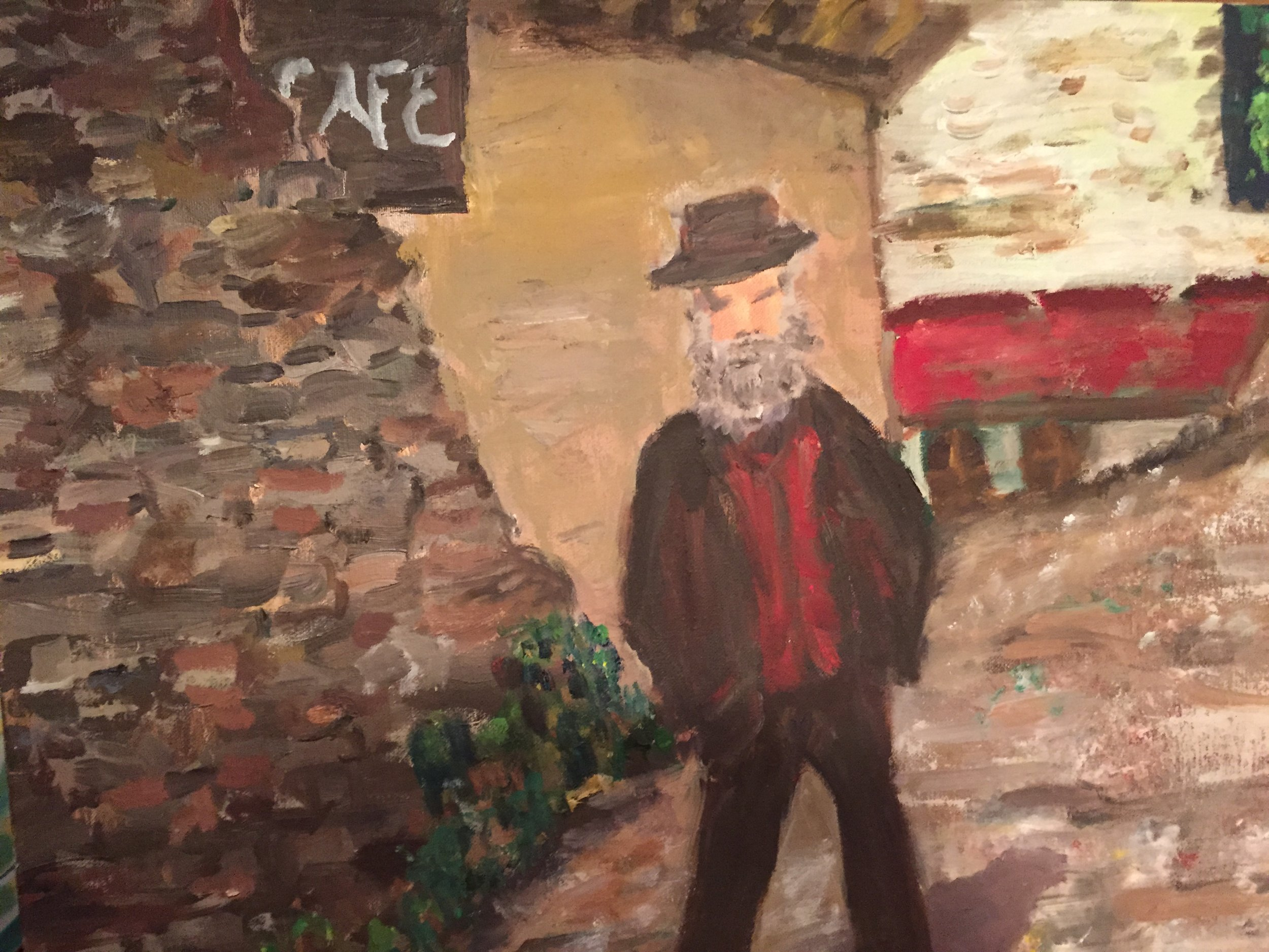 Old Man in St Cyr