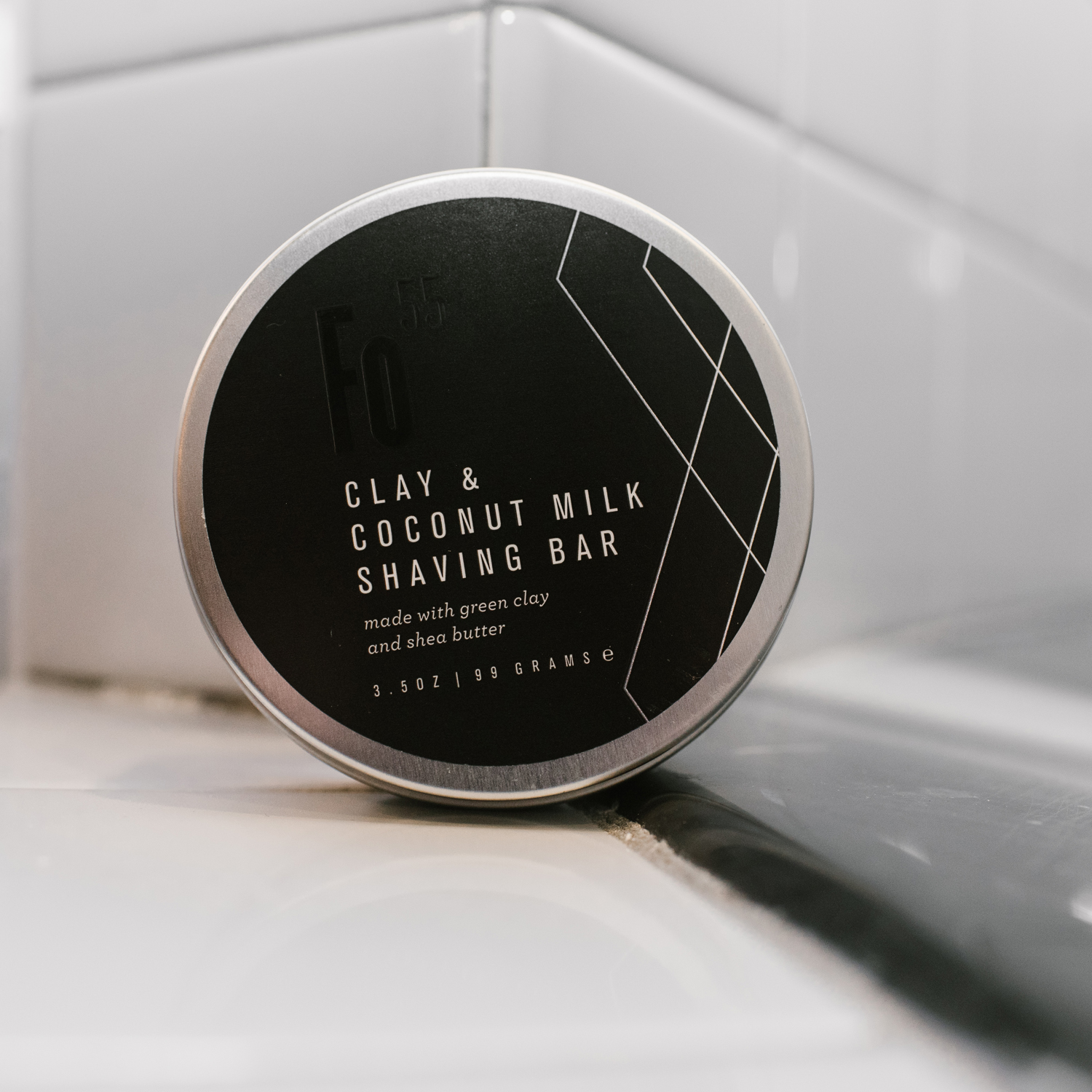 shaving bar container for product