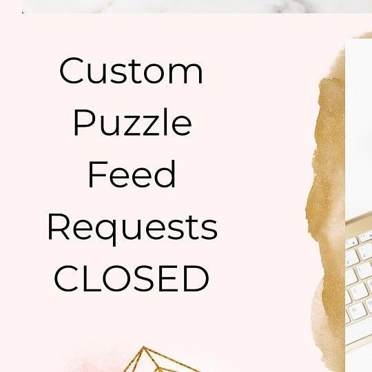 Custom feeds are closed for the time being ! ♡ thanks for your understanding ♡♡