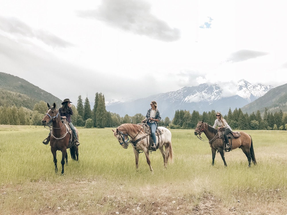 Pemberton Valley 2-hour horseback riding tour - $159 per personIncludes a wonderful horse hand-picked to match your ability and personality, helmet, professional cowboy/cowgirl as your guide, lots of stunning photo opportunities, riding tailored to your ability (experts and beginners welcome).Rides leave from the Copper Cayuse Ranch in PembertonBook online or call 1 604 698 7751