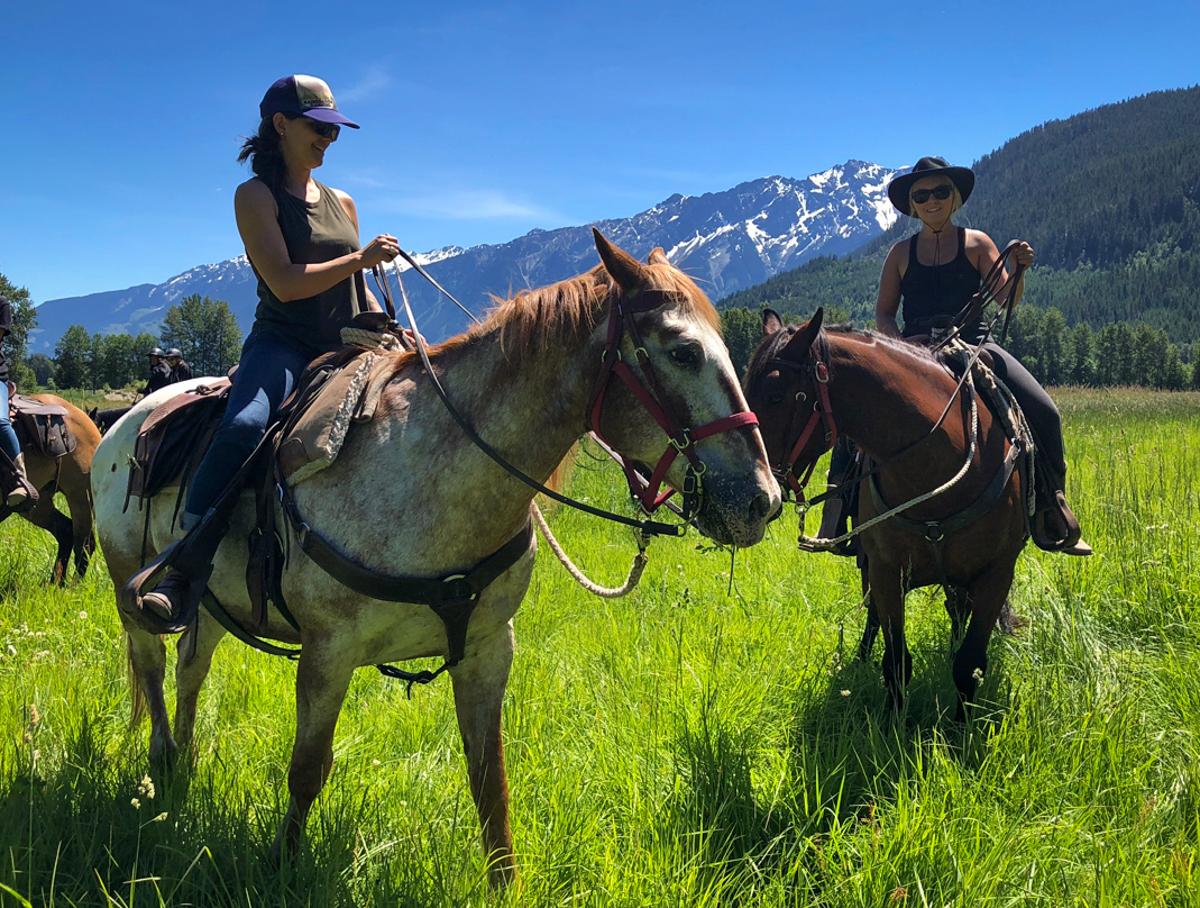 Two women on horseback .jpg