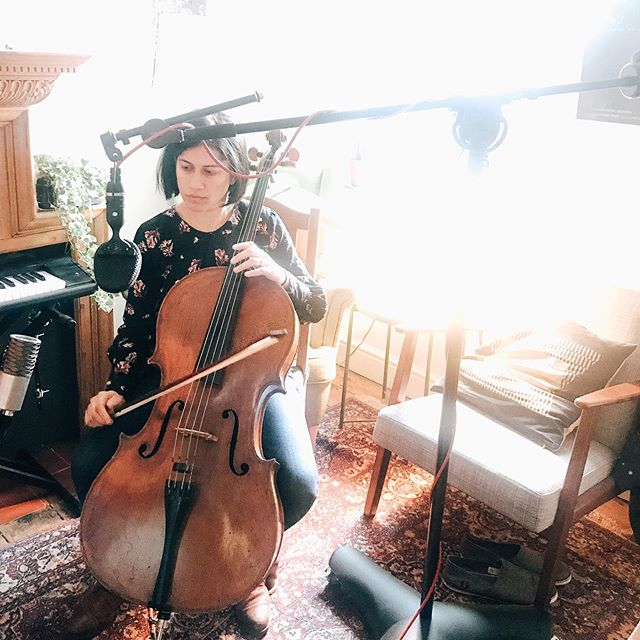 When your sister-in-law is an INCREDIBLE cellist and puts down some lines and parts on your new EP! . . The masters for 'Soar' are back and sounding beyond epic! I cannot wait to share this final part of this #daretoask adventure! . Watch this space for the countdown to begin!! . . #newmusicalert