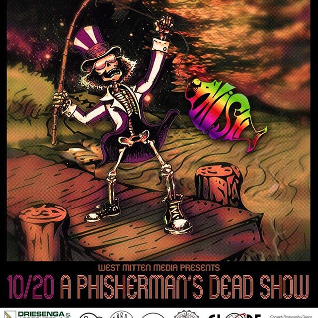 See you tonight at @hollandparktheatre in Holland, mi! Jams start at 9! #phish #gratefuldead