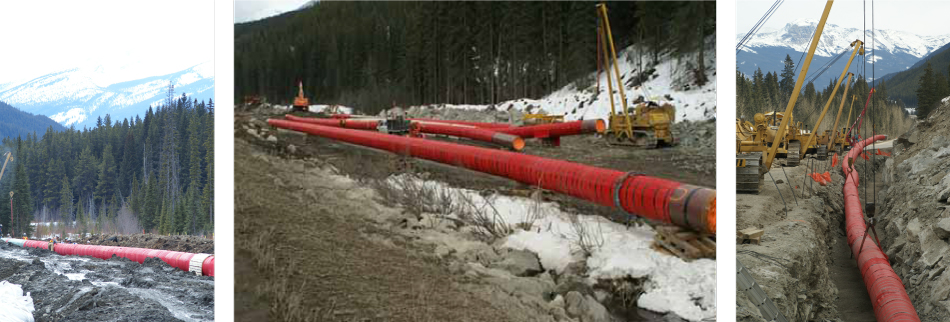 red one redone rock shield rockshield pipeline protection