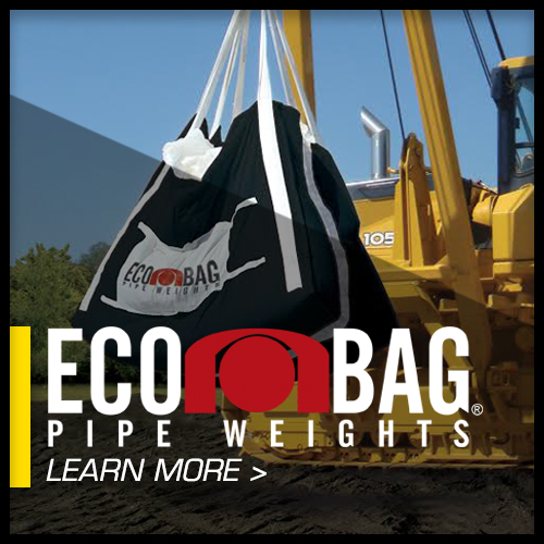 bag weights buoyancy control ecobag geotextile pipeline weights saddle bag saddle weights soft weights