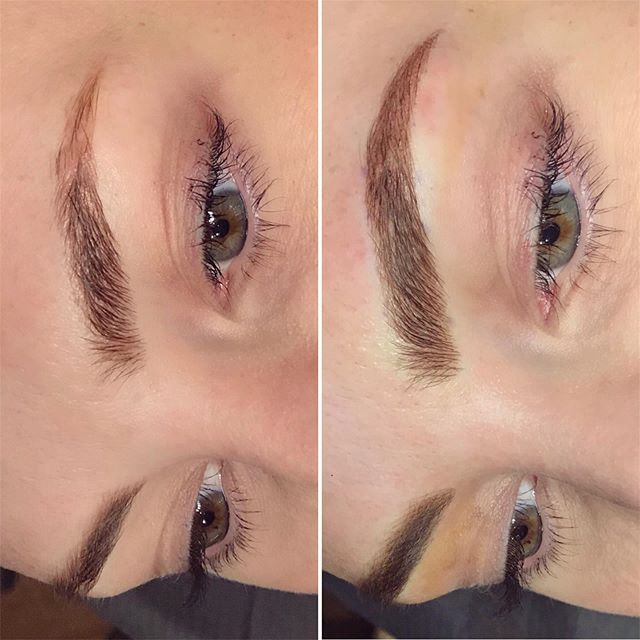 Refreshed and ready to go 💃🏼💃🏼💃🏼 These are Microbladed and shaded using @tinadaviesprofessional pigment 💕 #seattlecosmetictattoo #seattlemicroblading #westseattlemicroblading #eyebrowgoals #seattlebrows #westseattlebrows #beforeandafter #transformation #ladywolfstudio #browsruleeverythingaroundme #babebrows #tinadaviespermablend #permablendpigments #seattle #westseattle #lovewhatyoudo #brows