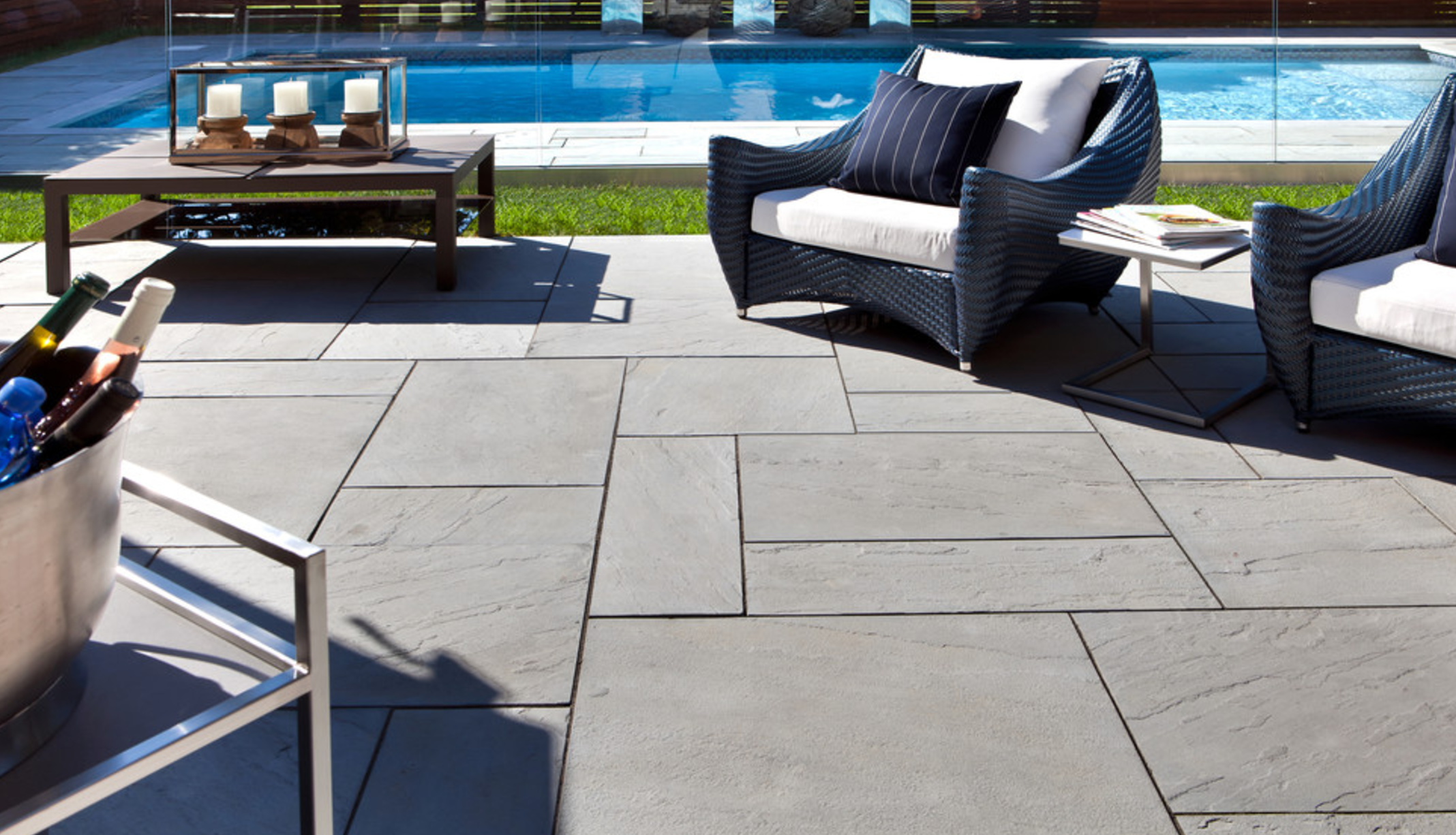 Top landscape design with paving stones in Rockland County, NY