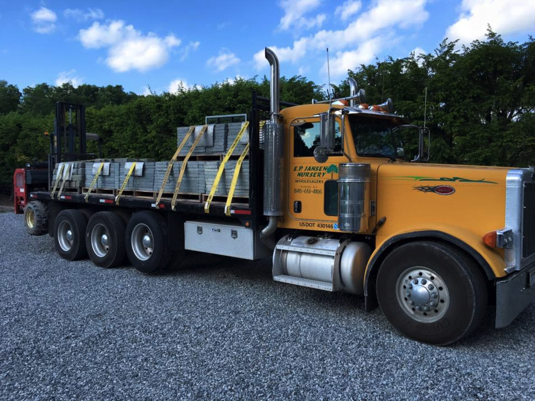 Best stoneyard landscape supply in Orange County, NY