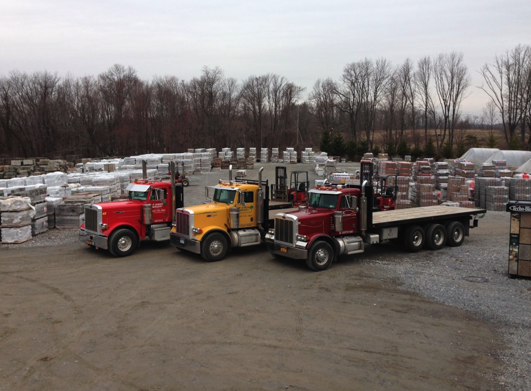Stoneyard in Orange County, NY - Quality paving stones, stone veneer in Orange County NY